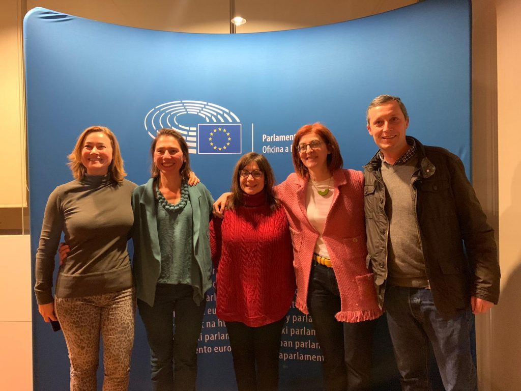 EiC con Maite Pagazaurtundúa, Euro diputada por Group of the Alliance of Liberals and Democrats for Europe.